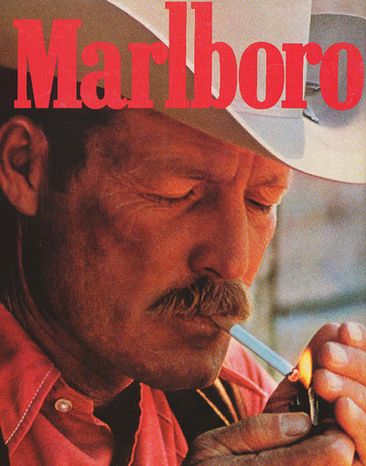 Yep. That's the Marlboro Man