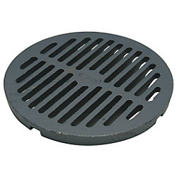 A Cast Iron Floor drain cover similar to this