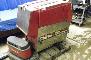 We had a Clarke Floor scrubber similar to this one