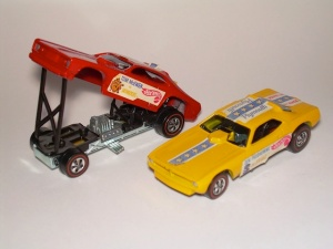 My brother and I had this pair of Hot Wheels. the Snake and the Mongoose