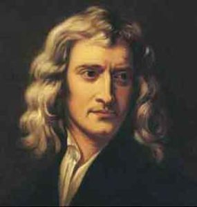 Sir Isaac Newton Had 3 laws of motion and liked to mow grass (ok. So I made up that second part)