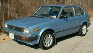 A 1982 Honda Civic