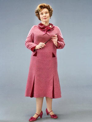 Professor Umbridge Holding her wand