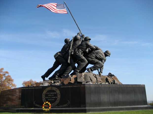The Iwo Jima Monument