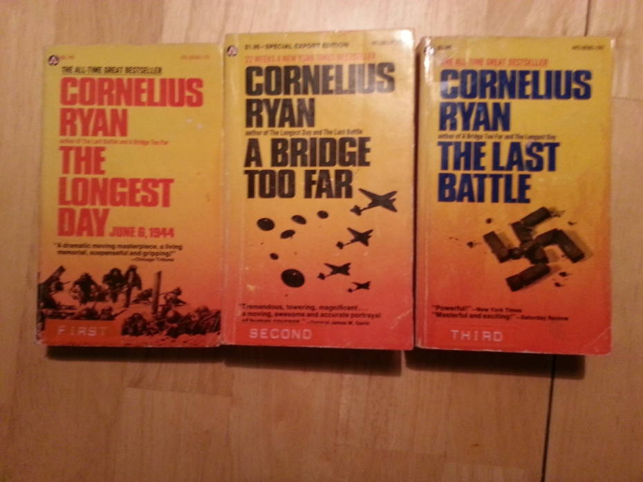 The three books Bill Boyd gave me