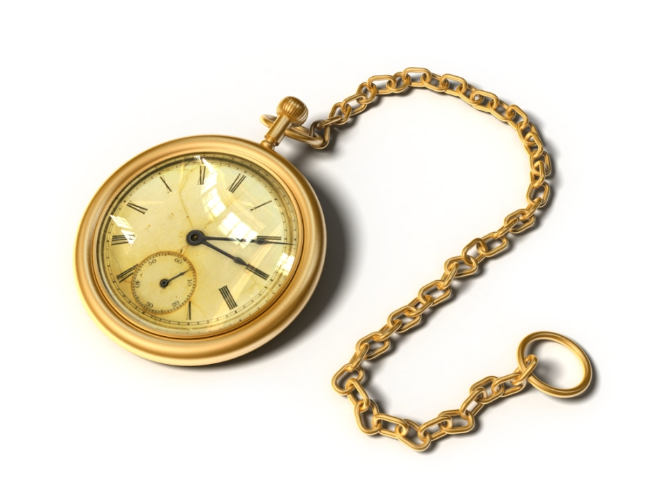 Power Plant Pocket Watch worn by Old Fogies