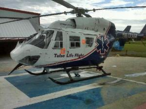 Life Flight from Tulsa