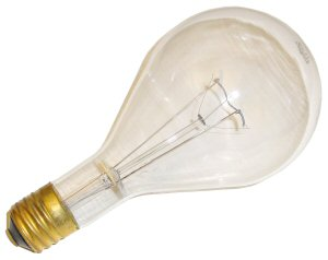 A radio tower light bulb