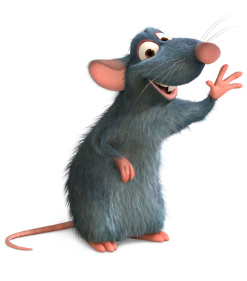 Rat from the Movie Ratatouille