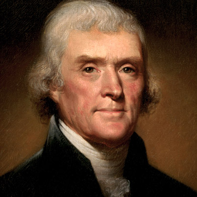 Thomas Jefferson -- good first impression