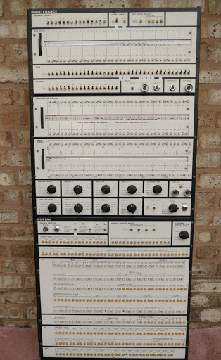 A Honeywell Mainframe computer