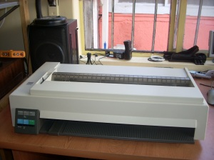 IBM Dot Matrix Network Printer