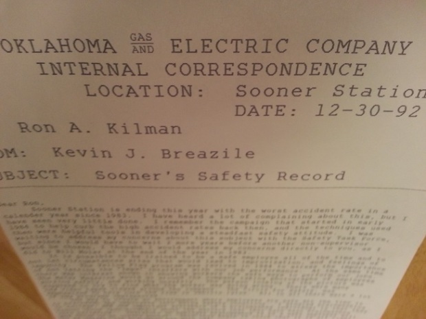 An example of the Company Memo Header on our Dot Matrix Printer