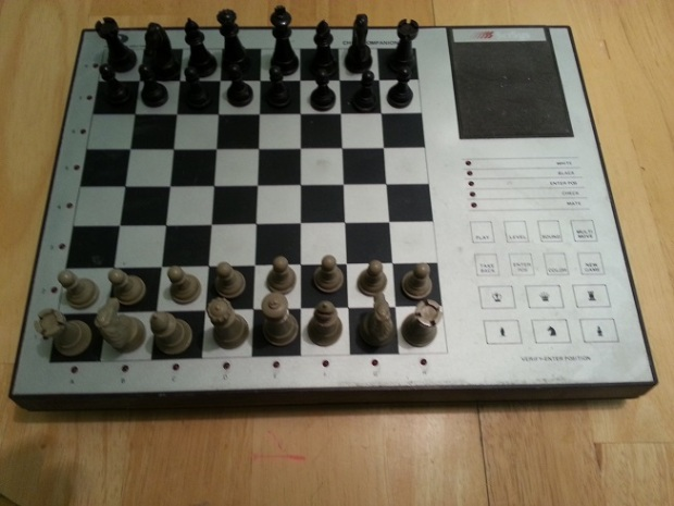 The actual Computerized Chessboard we used